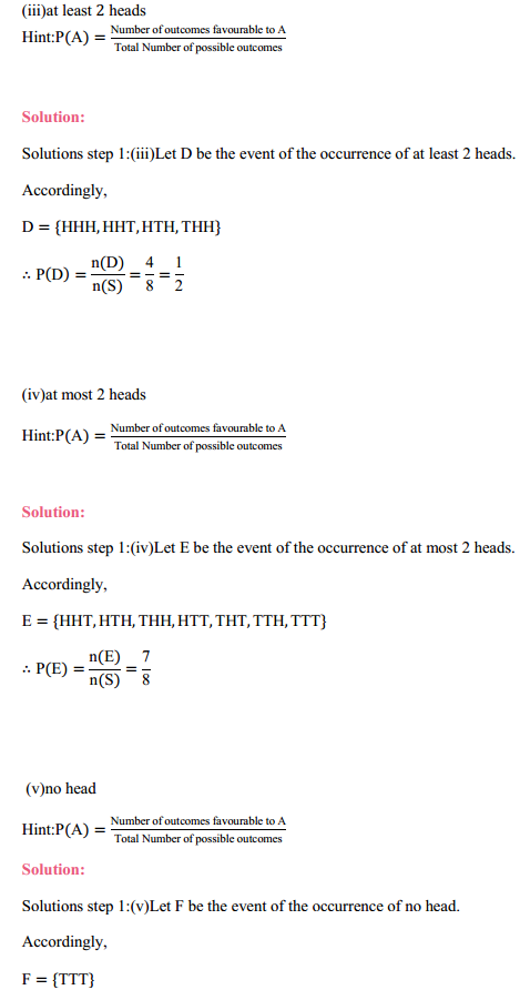 MP Board Class 11th Maths Solutions Chapter 16 Probability Ex 16.3 14