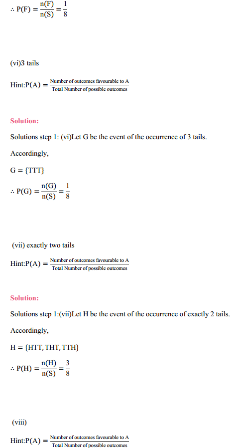 MP Board Class 11th Maths Solutions Chapter 16 Probability Ex 16.3 15