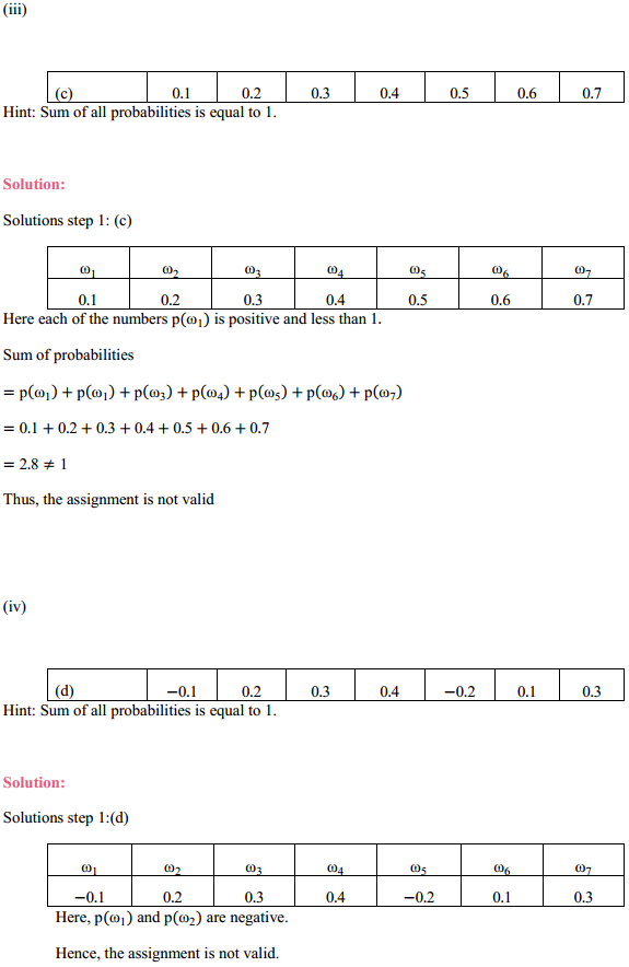 MP Board Class 11th Maths Solutions Chapter 16 Probability Ex 16.3 3