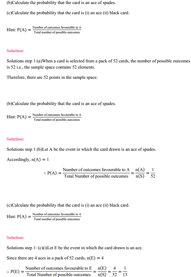 MP Board Class 11th Maths Solutions Chapter 16 Probability Ex 16.3 8