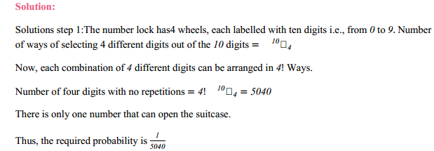 MP Board Class 11th Maths Solutions Chapter 16 Probability Miscellaneous Exercise 14
