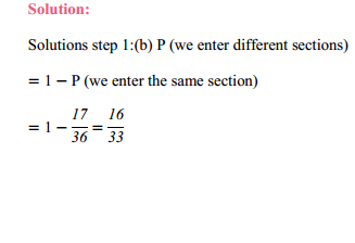 MP Board Class 11th Maths Solutions Chapter 16 Probability Miscellaneous Exercise 6